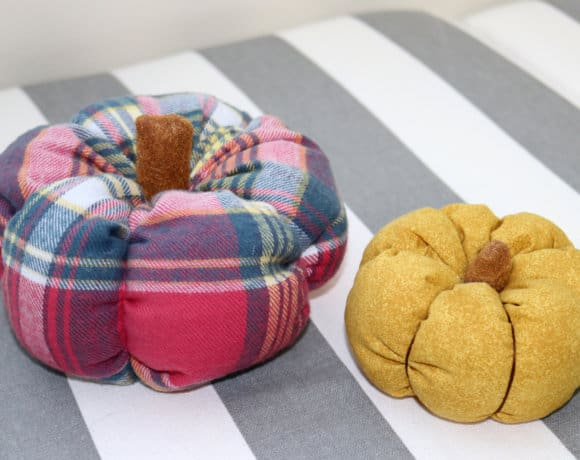 DIY Fabric Pumpkins to Get You in the Mood for Fall
