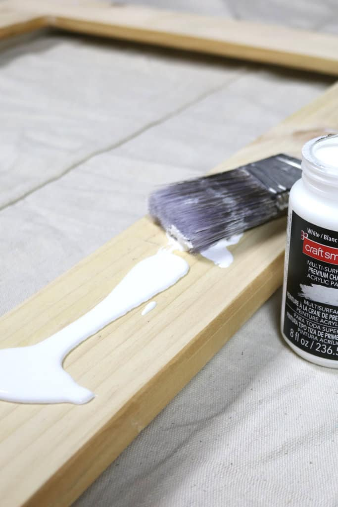 Magnet Board Refresh: A Simple Update with Chalk Paint