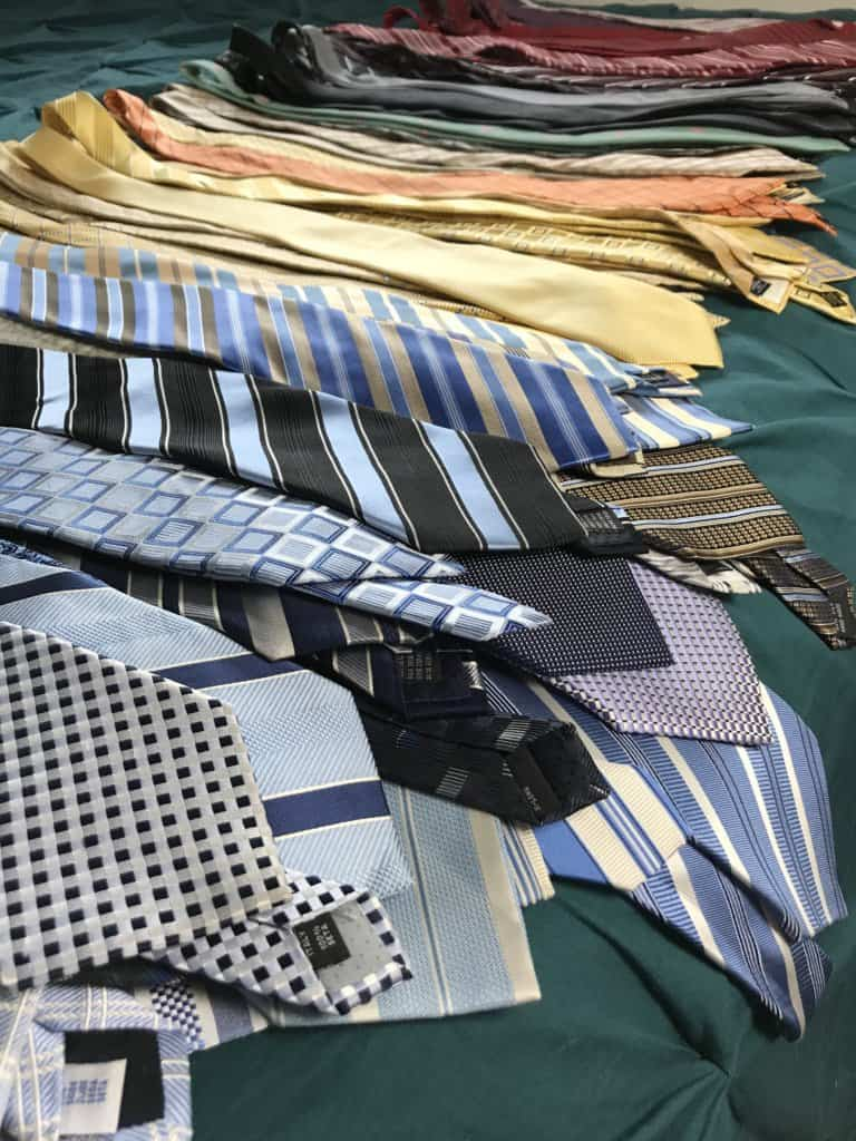 Men's Tie Organizer to Make the Most of a Small Space