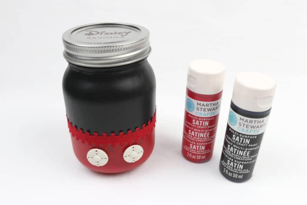 6 Disney Crafts to Make Before Your Next Disney Vacation: DIY Mickey Savings Jar