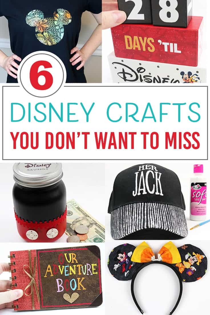 Disney DIY craft ideas before your next vacation