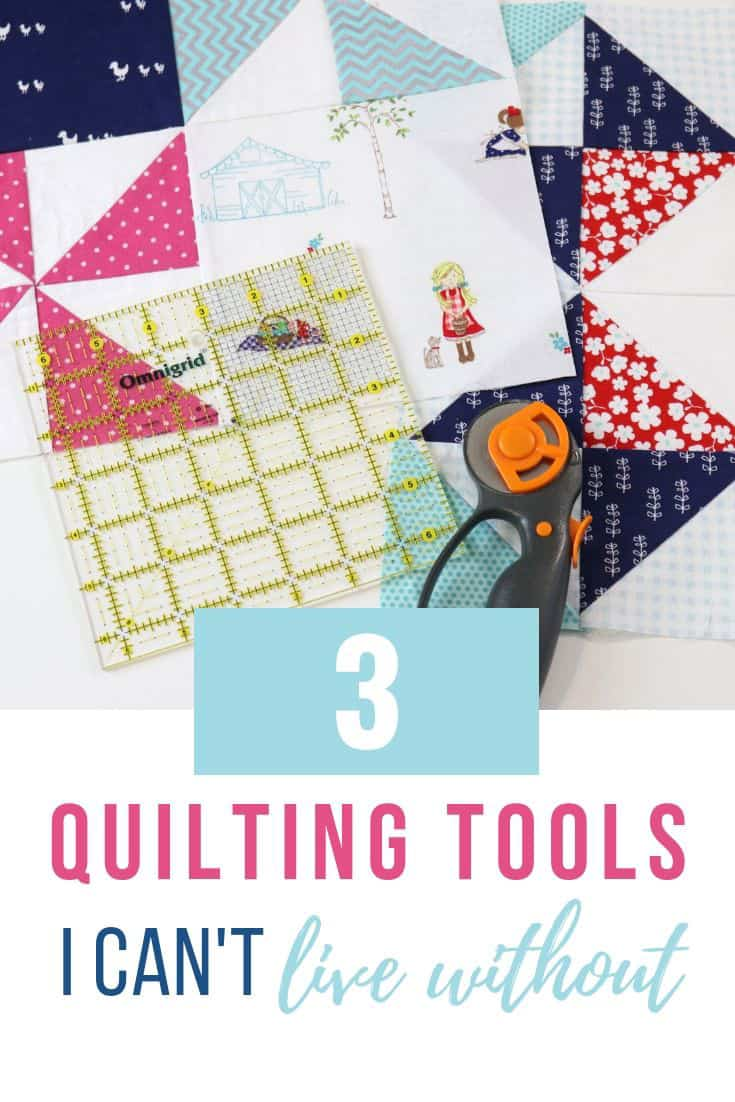 quilting supplies and tools you need in your craft room