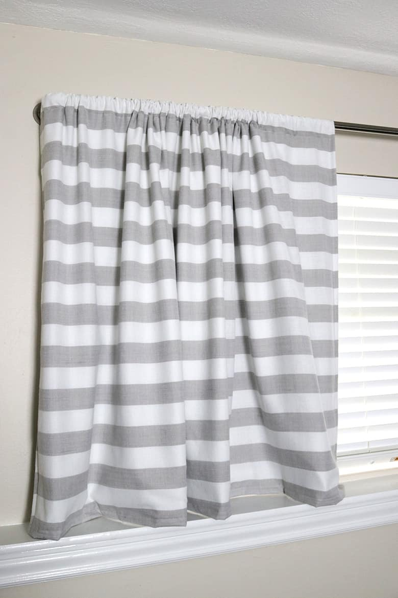 Blackout curtains for the bedroom are a must-have in our house! However, I don't recommend making your own DIY blackout curtains. Head to the blog and I'll tell you why!