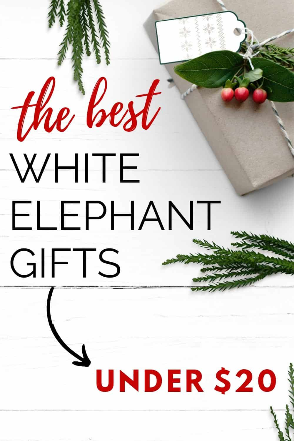 Holiday Gift Guide The Best White Elephant Gift Ideas Under 20 Aubree Originals