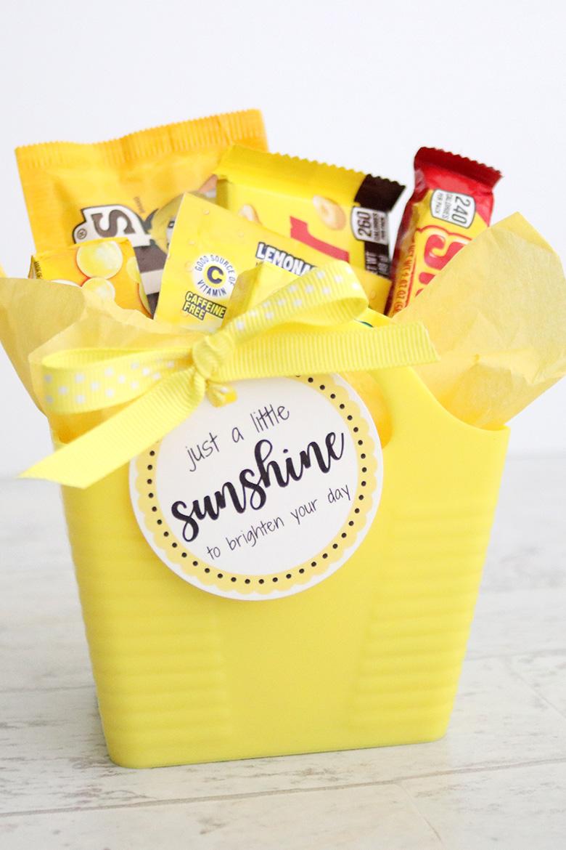 Diy Sunshine Gift Ideas And Free Printables Aubree Originals